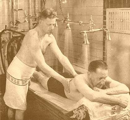 водные процедуры от целлюлита